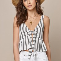 LA Hearts Reversible Tie Detail Tank Top at PacSun.com