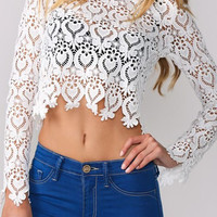 Cristy White Top