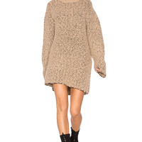 YEEZY Season 3 Oversized Teddy Boucle Sweater in Desert Noise | REVOLVE