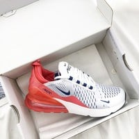 Nike Air Max 270 Men And Women The Air Cushion Shoes-19