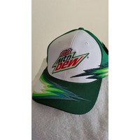Dale Earnhardt Jr #88, diet Mtn Dew Racing on a new Green/white ball cap w/tags