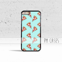 Pastel Pizza Slices Case Cover for Apple iPhone 4 4s 5 5s 5c 6 6s SE Plus & iPod Touch