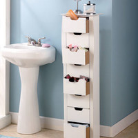 8-Drawer Slim Storage Units