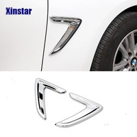 2pcs 1lot M performance car fender sticker for 2013 to 2017 bmw 3 Series F30 F35 316 320 325 328 330 335