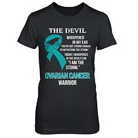I Am The Storm Support Ovarian Cancer Warrior Gift