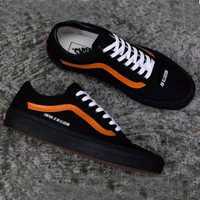 Trendsetter Vans X Control Is An Illusion Canvas Old Skool Flats Sneakers Sport Shoes