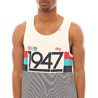 LRG Tank Top 19 Sporty 7 in White