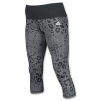 Women's adidas Animal Print 3/4 Tights