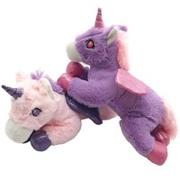 Miaoowa 1pc 30cm New Arrival Cute Unicorn with Wings Plush Toys Stuffed Soft Cartoon Animal Horse Doll Gift for Children & Kids