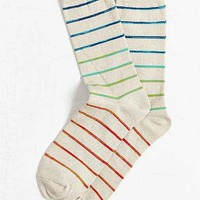 Gradient Stripe Sock