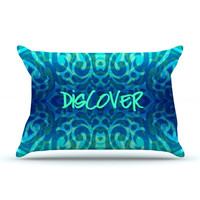 """Caleb Troy """"Tattooed Discovery"""" Pillow Case - Outlet Item"""