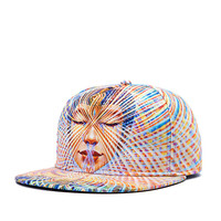 Trippy Psychedelic Snapback Baseball Cap Hat