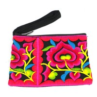Hmong Embroidered Coin Purse