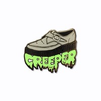 Creeper Enamel Pin