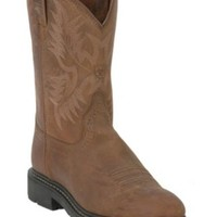 Ariat® Men's Dusted Brown Sierra Western Pull-On Work Boots