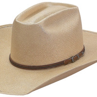 Western Boot Sales - Online Western Store - American Hat Co 15★ Solid Shantung Straw Hat - Tan, Straw Cowboy Hats, 5605