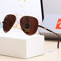 RayBan Stylish Men Women Simple Sun Shades Eyeglasses Glasses Sunglasses 4#