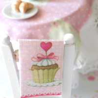 Kitchen tea towels dollhouse