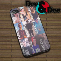 Magcon Boys for iPhone 4/4S, 5/5S, 5C - Samsung Galaxy S3, S4 Rubber Case and Plastic Case