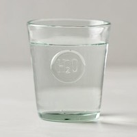 H20 Glass by Anthropologie Clear One Size Dinnerware