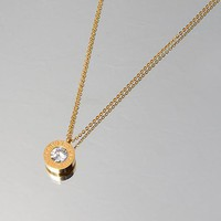 Bvlgari Woman Fashion Diamond Plated Necklace For Best Gift