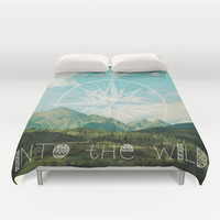 Into the Wild Duvet Cover by Jenndalyn