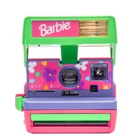 Pink Polaroid 600 Barbie Edition Instant Analog Camera