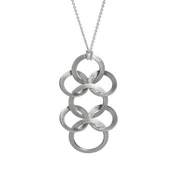 Spine Pendant Sterling Small