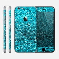 The Turquoise Glimmer Skin for the Apple iPhone 6
