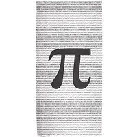 Pi Numbers 3.14 All Over Bath Towel