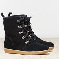 AEO Women's Lace Up Cozy Boot