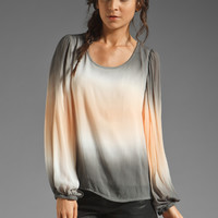 Young, Fabulous & Broke Wren Top Grey Double Ombre from REVOLVEclothing.com