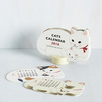 Cats Year of the Critter 2016 Calendar in Kitties by ModCloth