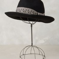 French Brim Rancher by Anthropologie Black One Size Hats