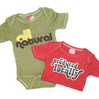 LOCAVORE BABYSUITS | Produced Locally, All Natural, Baby, Outfits, Organic, Infant, Sustainable | UncommonGoods