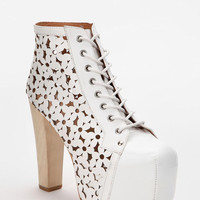 Urban Outfitters - Jeffrey Campbell X UO Daisy Cutout Leather Lita Boot