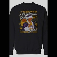 KOBE BRYANT MERRY SWISHMAS CHRISTMAS HOLIDAY SWEATER