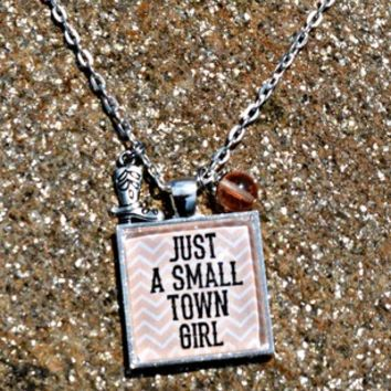 Small Town Girl-Chevron