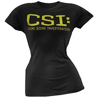 CSI - Logo Juniors T-Shirt