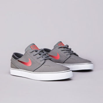 Flatspot - Nike SB Stefan Janoski L Medium Base Grey / Laser Crimson - Black