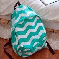 Triangle Fashion Backpack Bag