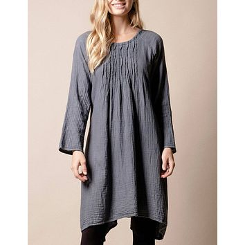 Brenley Tunic Dress - Grey
