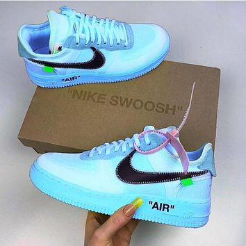Nike Air Force 1 OFF-WHITE OW Fashion Sneakers Sport Shoes