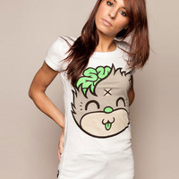 Mascot Kitty - White, Drop Dead Clothing