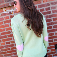 Heart On My Sleeve {Green/Pink}