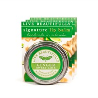 Ginger Sweet Lime - Hydrating Lip Balm Tin