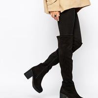 New Look Wide Fit Over The Knee Boot