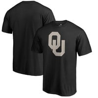Men's Fanatics Branded Black Oklahoma Sooners Cloak Big & Tall T-Shirt