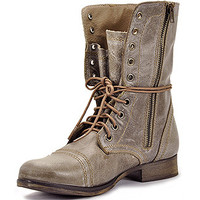 Steve Madden Troopa 2.0 Combat Boots | Stone Leather