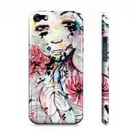 iPhone 5 case - iPhone 5 cover - iPhone 5s - case for iPhone 5- Case for 5s - Watercolor iPhone - Art iPhone